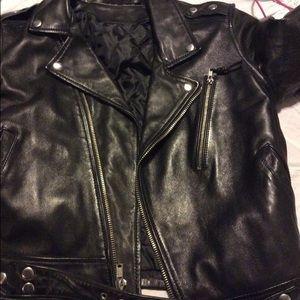 BLK DNM Jackets & Coats - BLK DNM MOTO Leather Jacket 1